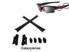 Galaxy Earsock & Nose Pad For Oakley Flak Jacket XLJ Sunglasses Black