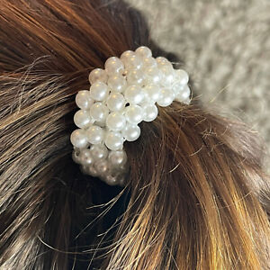 Haargummi Zopfhalter Haarband Perlen Haarschmuck Jewelry Fashion
