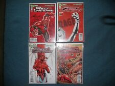 DC Comics; Red Lantern #1,2,3,4. New 52 2011 series. Uncert VF/NM 8.5-9