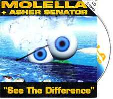 Molella + Asher Senator - See The Difference - CDS - 1996- Trance 5TR Cardsleeve