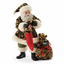 Clothtique Possible Dreams 'Hunting For The Perfect Gift' 2017 Santa 4057102