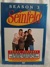Seinfeld - Season 3 Three (DVD, 2004, 4-Disc Set) Widescreen Brand New Sealed