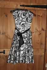 Jane Norman Size 8 Strapless Dress wedding party prom christmas