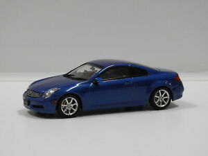 1:43 Nissan Skyline Coupe 350GT (Blue Metallic) Ebbro 486