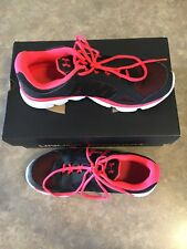Under Armour Pink And Black Running Shoes Size 9