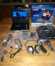 """Coby Tf-Dvd7377 7"""" Widescreen Tft Portable Dvd Players"""