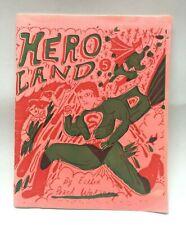 Hero Land #5 Esther Pearl Watson Mini Comic Zine Superheroes