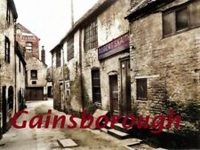 White Horse yard, Gainsborough, Lincolnshire, a Postcard sized Picture