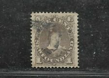 NEWFOUNDLAND STAMP #42 (USED) FROM 1880-96