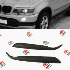 BMW X5 E53 Eyebrows Headlight Spoilers Eye Lids Brows pre-facelift