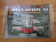 1/8 DEAGOSTINI BUILD YOUR OWN MCLAREN MP4/23 LEWIS HAMILTON 2008 F1 CAR ISSUE 54