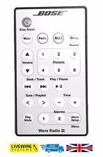 Bose Wave Radio Iii Control Remoto Platinum Blanco