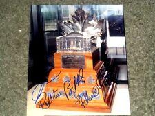 Conn Smythe Trophy Winners Autographed 8x10 Photo  Roy/ Zetterberg/ Ranford/etc