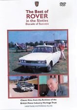 Best of Rover in the 60s DVD - Rover P6 2000 3500 * NEW