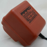 RAAD red power supply regulated DC 9V adapter guitar effect pedal center minus