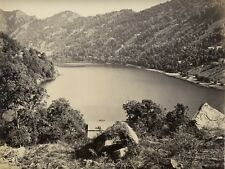 India, Himalaya, Nainital excellent dark view by Sache nr. 286 (?). ca 1869.