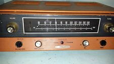 HEATHKIT TUBE TUNER  AJ - 12 FM powers up