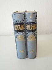 Brockhaus kleines Konversationslexikon in 2 Bänden (A bis Z), 5. Auflage (1910)
