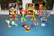 LOT OF VINTAGE COLLECTIBLE WALT DISNEY FIGURES and BANK
