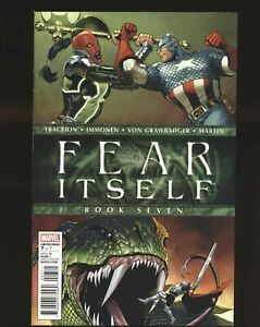 Fear Itself # 7 - Captain America Wields Thor's Hammer Mjolnir NM- Cond.