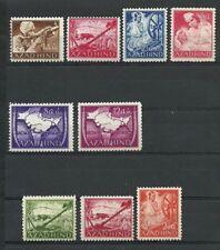 GERMANY WW2 INDIAN LEGION - 1943 ! AZAD HIND ! FULL PERF. SET ! 9v. ! MNH OG