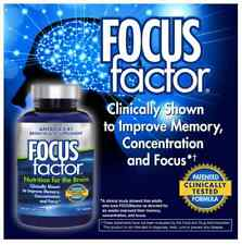 FOCUS Factor Brain Supplement 150 ct  Memory,Concentration, Focus
