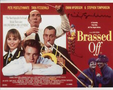 Philip Jackson Photo Signed In Person - Brassed Off - C331