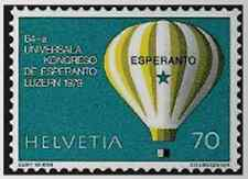 Timbre Ballons Suisse 1078 ** lot 18404