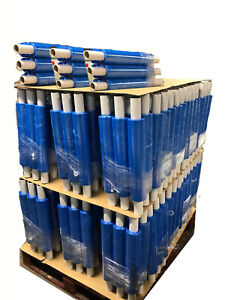 CHEAPEST JOB OFFER BLUE TINT PALLET WRAP 400MM X 250M 20MU CLEARANCE X 360 ROLLS
