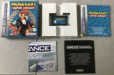 MARIO KART SUPER CIRCUIT POUR GAME BOY ADVANCE, COMPLET EN BOITE [CIB][FR]