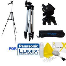 "50"" PROFESSIONAL LIGHTWEIGHT TRIPOD +CLEANING KIT FOR PANASONIC LUMIX LX100"