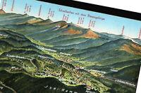 Schreiberhau mit dem Riesengebirge    1938