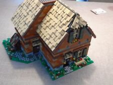 Lego Farmhouse MOC PDF instructions ( Building, City, Modular )