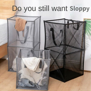 Laundry Hamper Foldable Dirty Clothes Hamper Clothes Toy Storage Washing Bag
