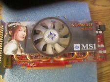 MSI NX8800GT Series Video Card.  Part Number: 512M    <