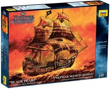 """ZVEZDA 9037 - Captain's Jack Sparrow Ship """"Black Pearl"""" Schiff / Modellbau 1:72"""