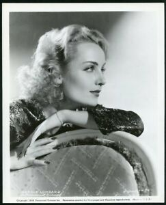 CAROLE LOMBARD in BEAUTIFUL PORTRAIT Original Vintage 1939 Photo