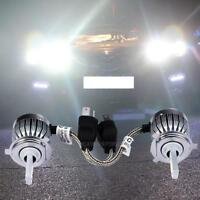 H4 LED Light Headlight Vehicle Car Hi/Lo Beam Bulb Kit 6000K 60W 6000LM Lamp