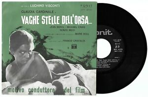 """7"""" FRANCK/LESSONA Vaghe stelle dell'Orsa OST (Fonit 65) Claudia Cardinale NM!"""