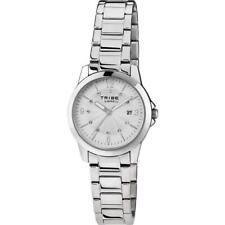 Orologio Donna BREIL Tribe CLASSIC ELEGANCE EW0195 Acciaio Silver Swarovski
