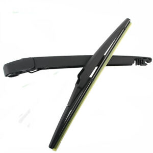 Rear Wiper Arm and Blade for kia Rio hatchback 2012-2019 back windshield wiper