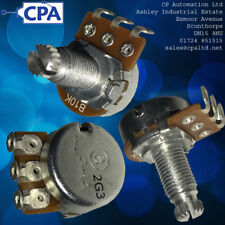 Potentiometer Metal Shaft 10k Ohm B10K Solder Lug Terminal