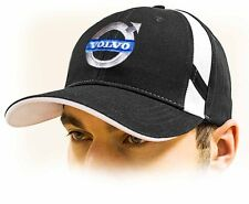 Volvo baseball Cap, unisex hat, black. Adjustable size with embroidered logo