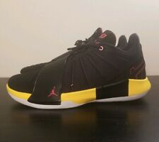 Jordan CP3.XI Taxi AA1272-002 Black Red Yellow Basketball Shoes Mens Size 12.5