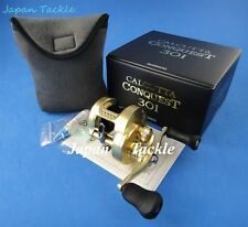 NEW SHIMANO CALCUTTA CONQUEST 301 LEFT HAND REEL (FAST 1-3 DAYS DELIVERY)