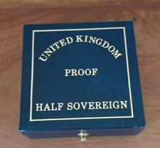 More details for royal mint 1995 gold proof half sovereign with original box and coa
