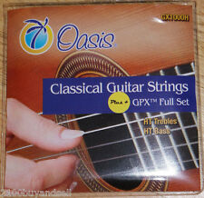 New Oasis Classical Guitar Strings GPX Carbon High Tension, Full Set GX1000H