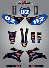 Yamaha TTR 125 / 2008 - 2016 sticker kit BARBED style decals Fully Custom