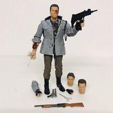 """NECA Terminator 7"""" Ultimate Tech Noir T-800 Figure"""