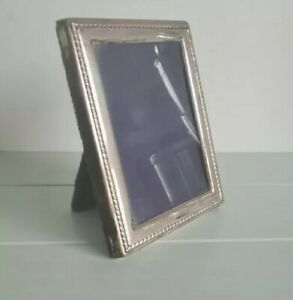 Vintage Silver Photo Frame by Carrs of Sheffield Hallmarked Sheffield 2000 Small
